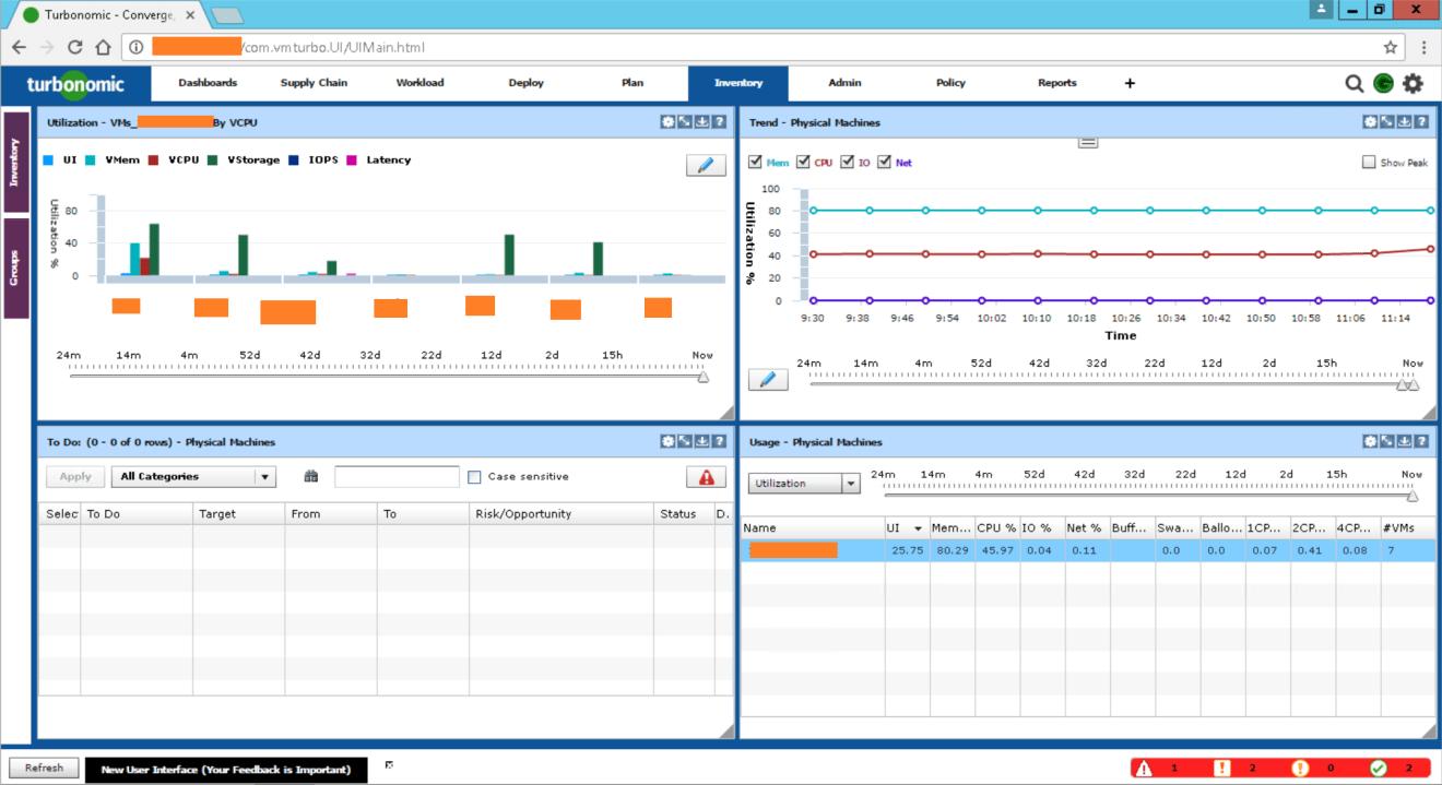 domalab.com Turbonomic dashboard