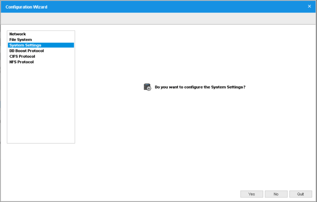domalab.com Data Domain VE install system settings