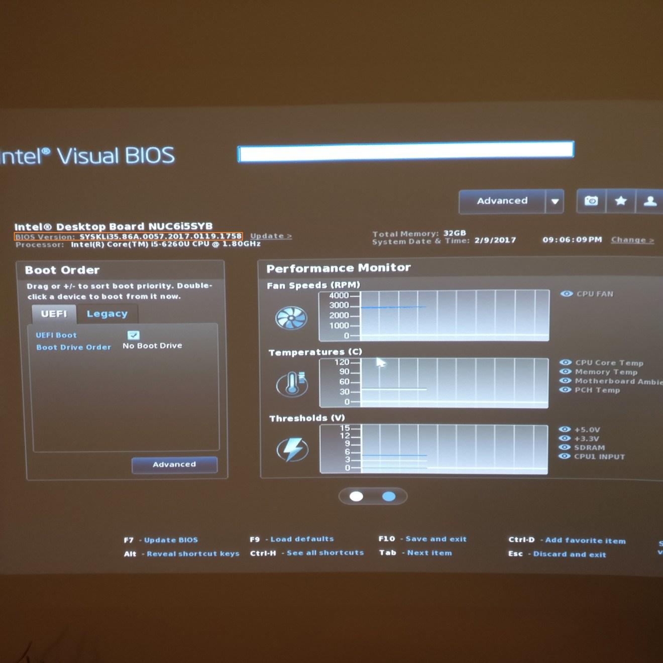 domalab.com Intel NUC BIOS update