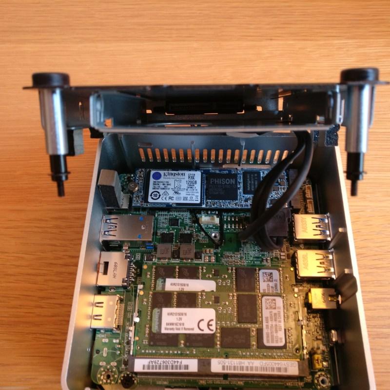 domalab.com intel nuc home lab Intel NUC ssd disk