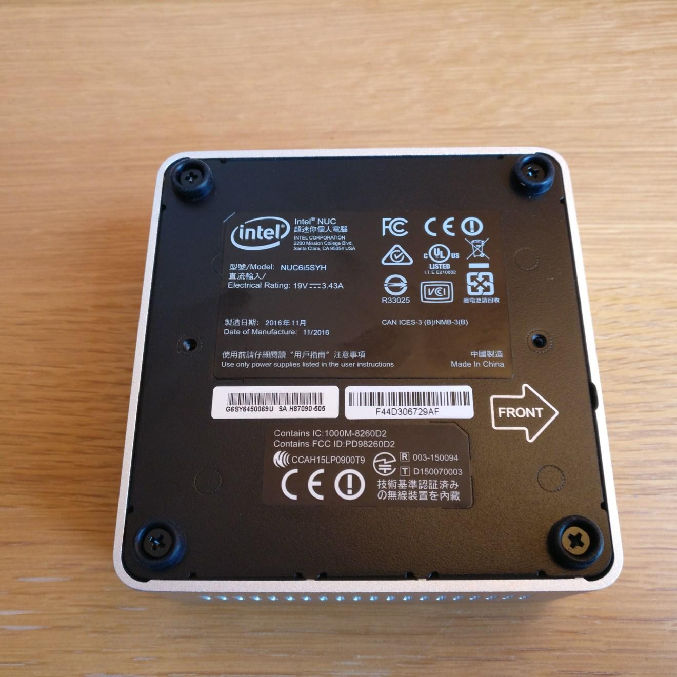 domalab.com intel nuc home lab Intel NUC enclosure