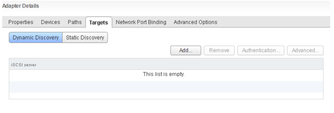 domalab.com VMware vSphere iSCSI add target