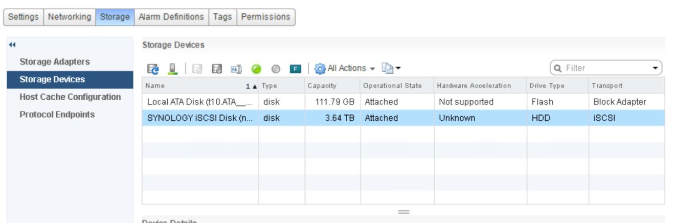 domalab.com VMware vSphere iSCSI storage devices
