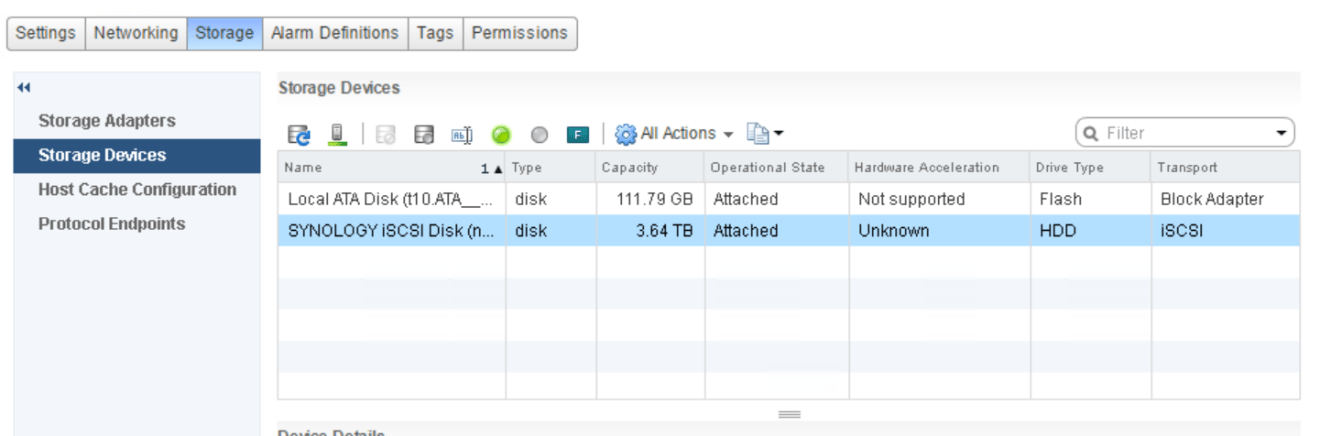 domalab.com VMware vSphere iSCSI storage devices