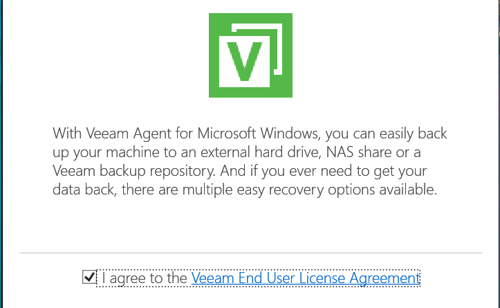 Veeam Agent for Windows and Linux