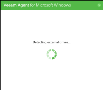 domalab.com Veeam Agents detect external drives