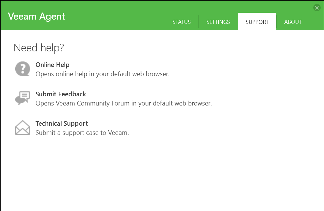 domalab.com Veeam Agents support