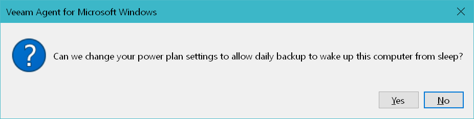 domalab.com Windows Backup Agent power plan