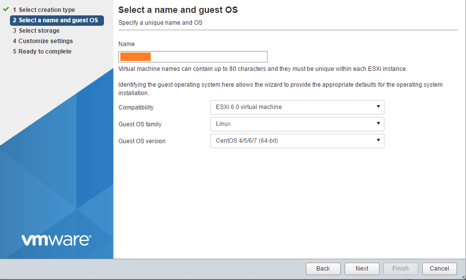 domalab.com Install ClearOS Select Guest OS