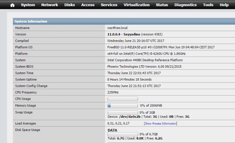 Install NAS4Free VMware ESXi 40