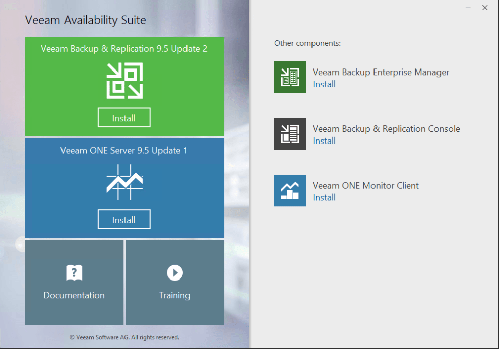 Veeam Backup & Replication new features overview » domalab