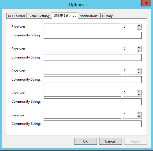 Veeam Backup SNMP settings