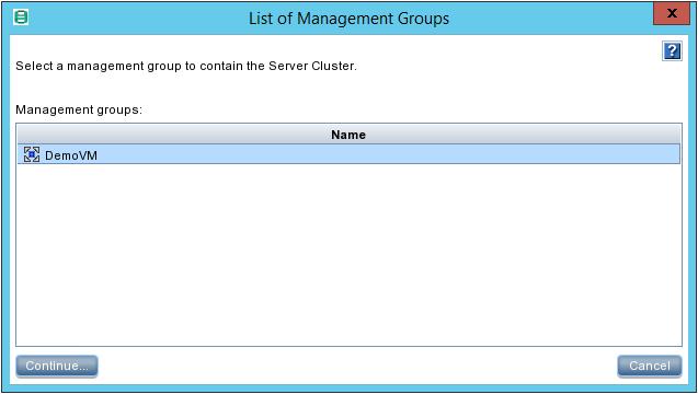 HPE StoreVirtual Storage Server Cluster Config