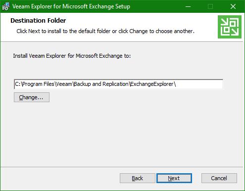 Backup Microsoft Office 365 Explorer install setup