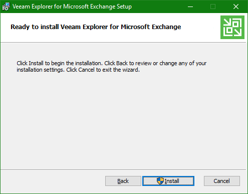 Backup Microsoft Office 365 Explorer install