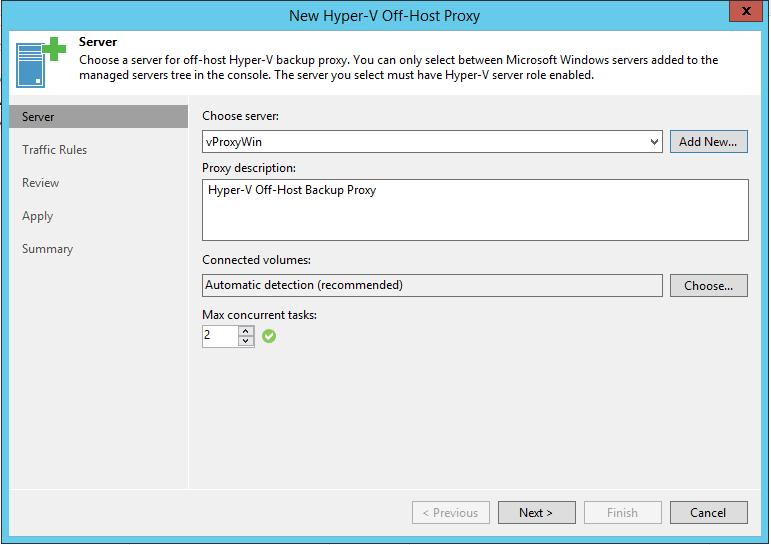 New Hyper-V Off-Host