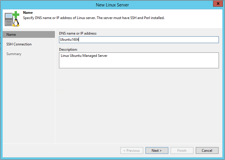 Create Linux Backup Repository with Veeam » domalab