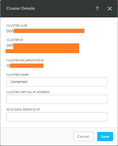 domalab.com Configure Nutanix Cluster details