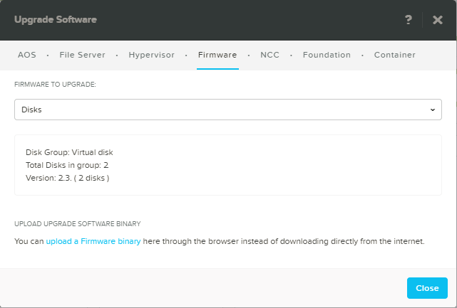domalab.com Configure Nutanix upgrade Firmware