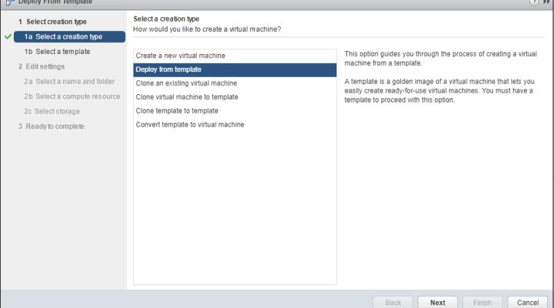 Custom deployment using VMware VM Template » domalab