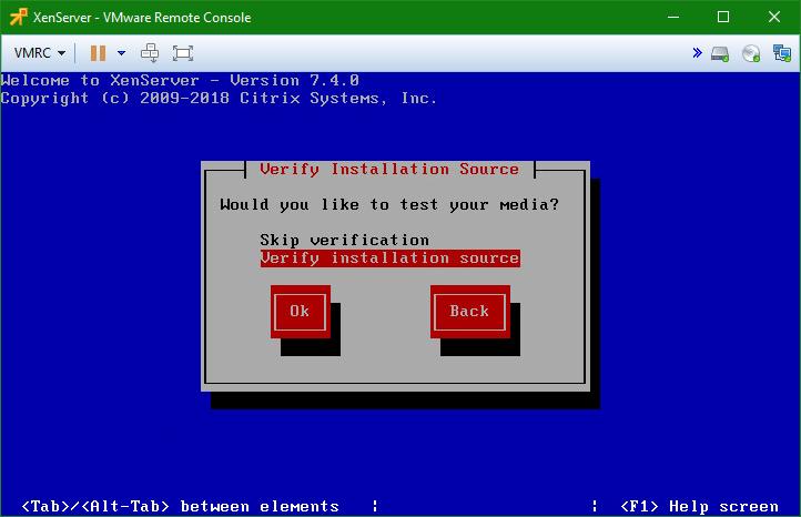 domalab.com install XenServer verify source