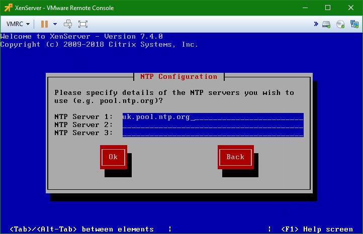 domalab.com install XenServer NTP configuration