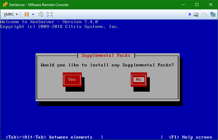 domalab.com install XenServer supplemental packs