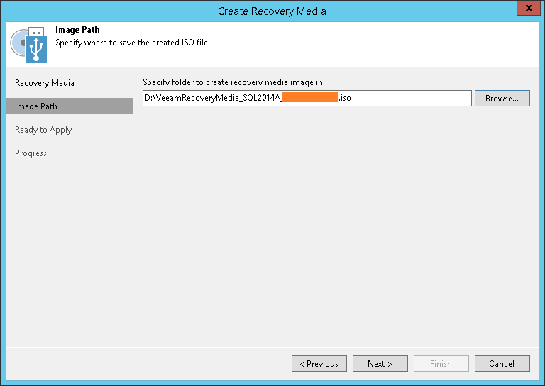 domalab.com Veeam Recovery Media image path