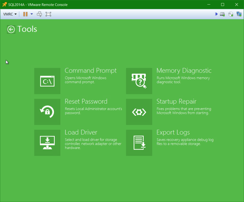 domalab.com Veeam Recovery Media tool options