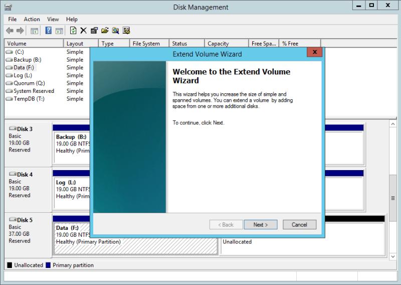 domalab.com NAS4Free Pool storage Windows extend volume