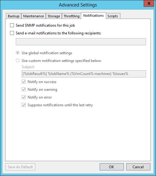 domalab.com SQL Cluster Backup Job notifications