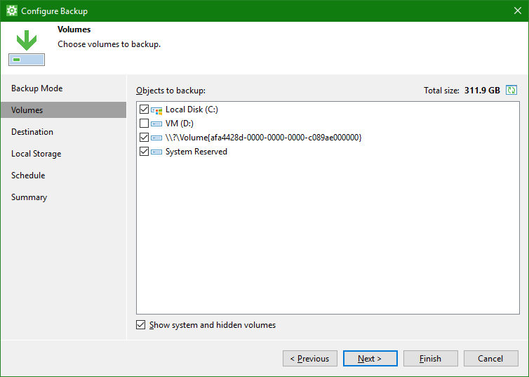 OneDrive Windows Backup using Veeam Agents  The easy way