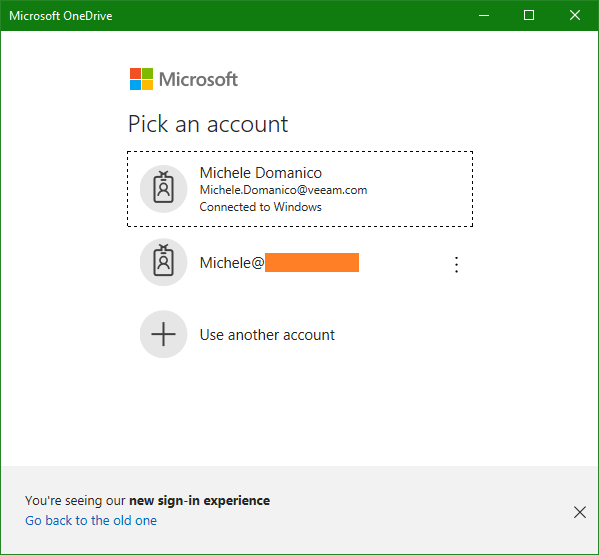 domalab.com OneDrive Windows Backup Microsoft account