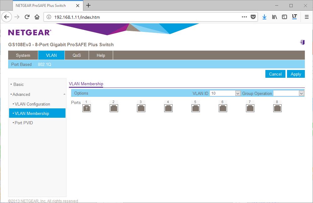 domalab.com netgear Vlan tag assign