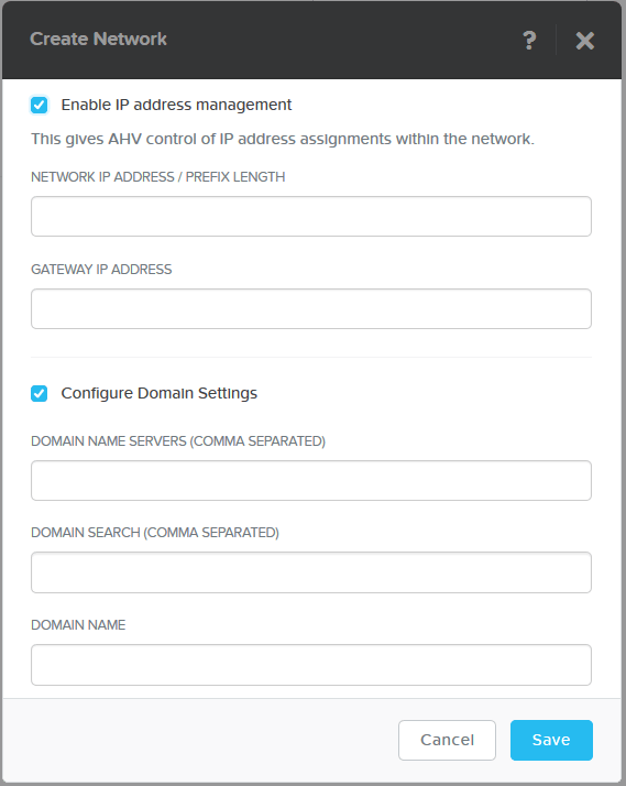 domalab.com Nutanix VM Network IP Address Management