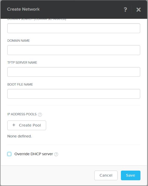 domalab.com Nutanix VM Network override DHCP