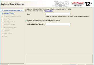 Install Oracle Database Server on Windows