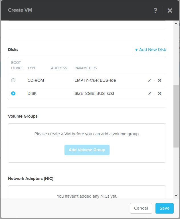 domalab.com Install Veeam VAN select boot device