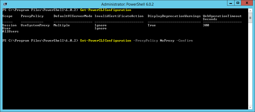 domalab.com Install VMware PowerCLI Set-PowerCLIConfiguration