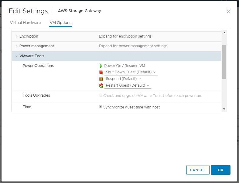 domalab.com AWS Storage Gateway NTP synchronization
