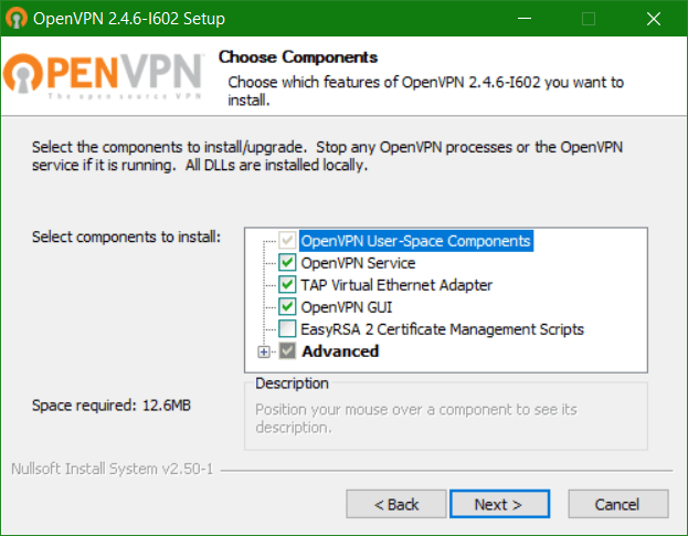 domalab.com Veeam PN Client OpenVPN components