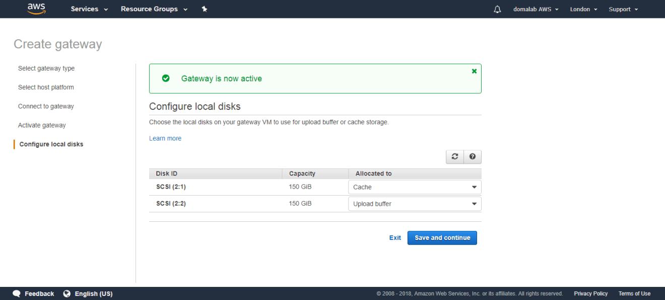 domalab.com AWS Storage Gateway tape