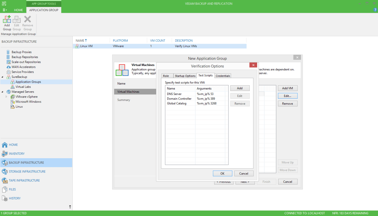 domalab.com Veeam SureBackup for Domain Controller test scripts