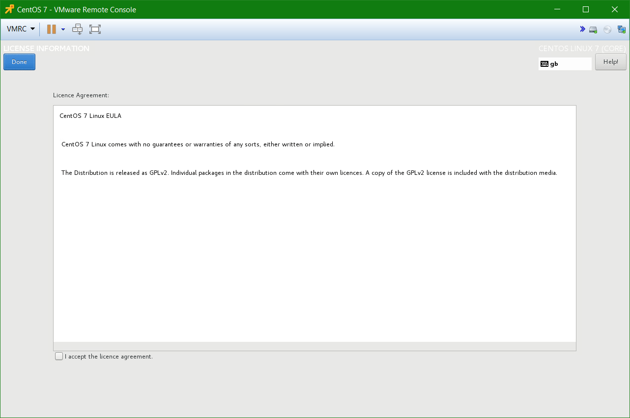 domalab.com Linux CentOS 7 install licensing