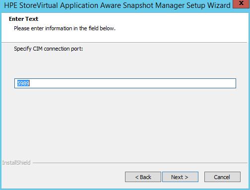 domalab.com HPE Application Snapshot Manager CIM port