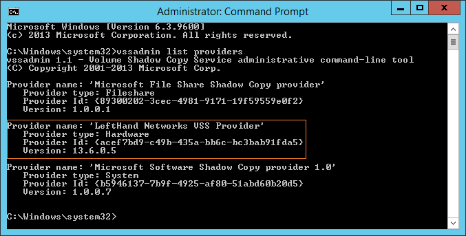 domalab.com HPE Application Snapshot Manager VSS Hardware Provider