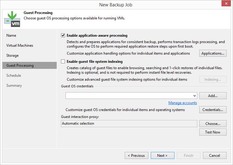 domalab.com HPE StoreVirtual Backup application aware