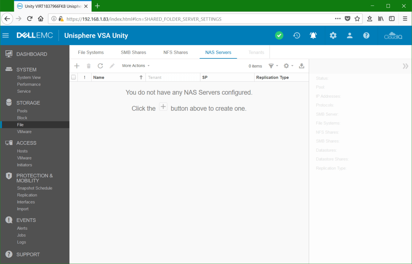 domalab.com Dell EMC Unity NAS Server