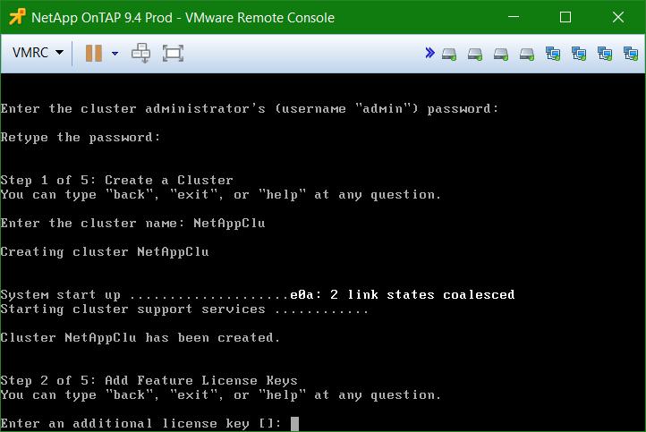 domalab.com Install NetApp ONTAP license key