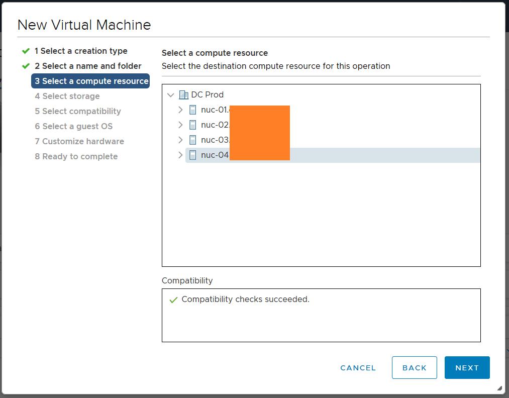domalab.com deploy Ubuntu Server VMware compute resource